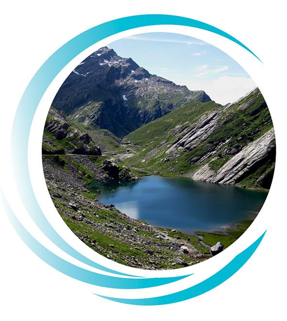 kristallkarer Bergsee