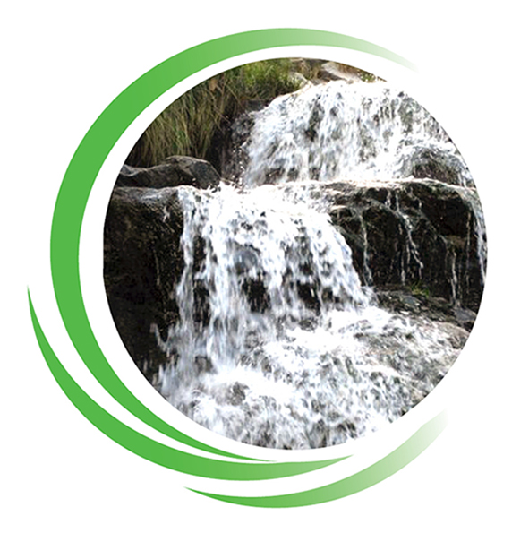 Wasserfall Ruhe und Entspannung in der Physiothearpie Praxis Spuersinn in Berlin Friedenau
