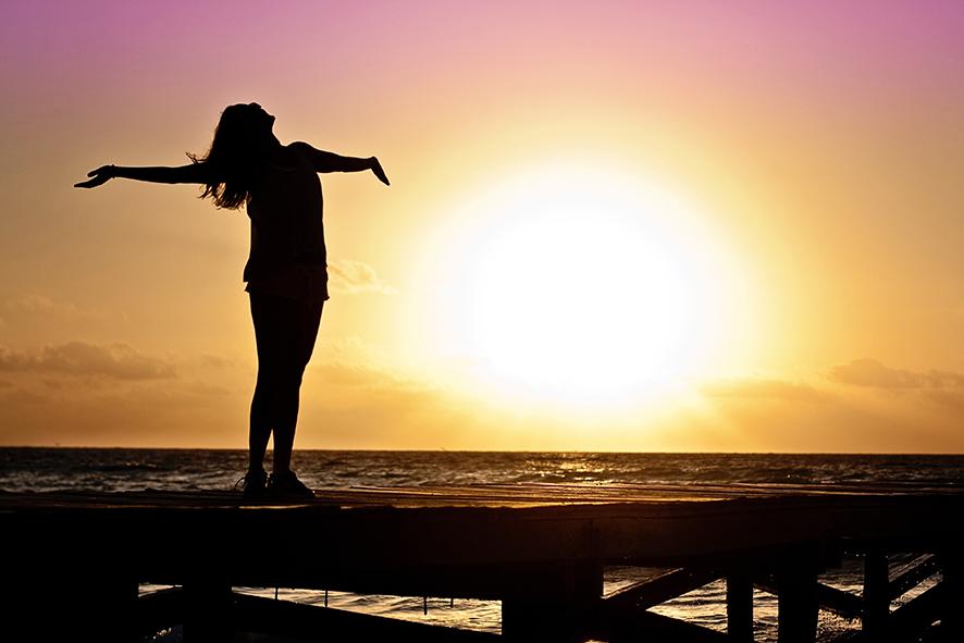 Freiheit genießen mit Körpertherapie, Coaching, Entspannung für Frauen